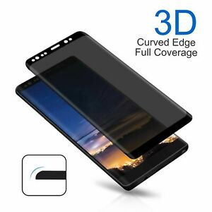 Privacy Tempered Glass Screen Protector For Samsung Galaxy Note S8 S9 S10 Plus R