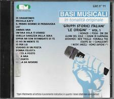 "NOMADI  POOH  DIK DIK  EQUIPE 84  SHOWMEN  CAMALEONTI -RARO CD "" BASI MUSICALI """
