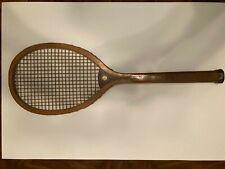 Vintage Spalding Geneva Wood Tennis Racket