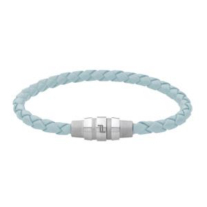Porsche Design Bracelet Grooves stainless steel,light blue 19 cm 21,5 cm *NEW*