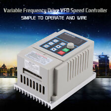 0.75kW Frequency Drive VFD Speed Controller Trifase Inverter Monofase AC220V
