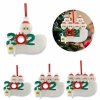 2020 Christmas Tree Ornaments Family Ornament Family Xmas Lockdown Decor Gift