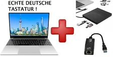"15,6"" Zoll Laptop Intel J4125 2,0GHz - 2,70GHz 8GB + 512GB M.2 SSD HD Win10 PRO"