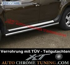 Trittbretter für Dacia Duster ab 2010 - mit TÜV Teilegutachten