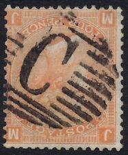 British Levant 1865 SG93 4d Dull Vermilion Pl 14 MJ Fine Used in Constantinople