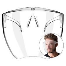 1-3 Clear Face Shield Face Mask Transparent Reusable Glasses Visor Anti-Fog Usa