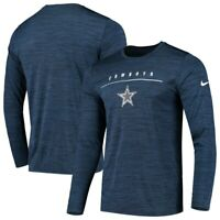 New Dallas Cowboys NFL Football Nike Dri-Fit Velocity Shirt Long Sleeve Men's