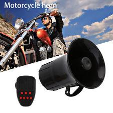 12V 50W 7 Sounds Tone Horn Motorcycle Car Alarm Siren Speaker Alarm For Car AO