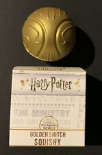 CULTUREFLY Harry Potter Golden Snitch MAGICAL Squishy Stress Ball WizardingWorld