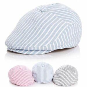 Cute Children Stripe Classic Style Baby Boy Cap Toddler Summer Berets Baby Hats