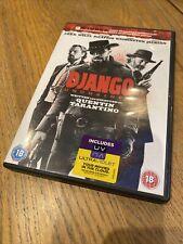 Django Unchained DVD (2013) Jamie Foxx, DiCaprio, Quentin Tarantino cert 18 R2