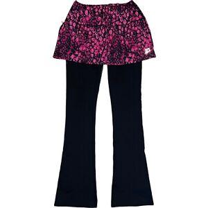 Skirt Sports Tough Girl Skirt Running Skort Built In Bootleg Tights Pants Size S