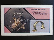 No.41 ASSEMBLING PANEL How to Make a Valve Amplifier by Godfrey Phillips 1924