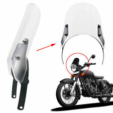 "7.5""Clear Headlight Fairing Windshield For Royal Enfield Classic 500cc  Models"