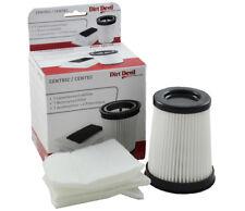 Filterset für DIRT DEVIL Centric / Centec M2827, M2828 Original Teil Nr 2828001