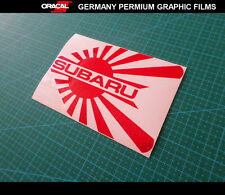 JDM LOGO SUBARU STI IMPREZA WRX CAR Decal vinyl Sticker