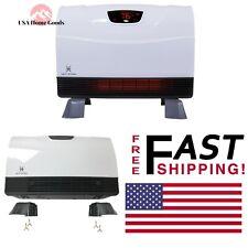 Infrared Quartz 1500-Watt Portable Heater Floor-To-Wall Unit W/ Attachable Feet