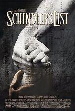 SCHINDLER'S LIST (1993) ORIGINAL MOVIE POSTER  -  ROLLED