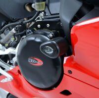 Pair of R&G Black Aero Crash Protectors for Ducati 959 Panigale 2019