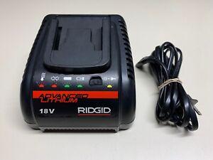 RIDGID RBC 20 #43458 18V ADVANCED LITHIUM CHARGER W/ POWER CORD