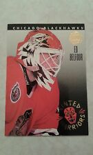 1993-94 Leaf Painted Warriors Ed Belfour Card 6 of 10.......1700+ more in Store