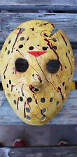 Friday the 13th  part 6 Jason  Vorhees  custom made Mask Halloween horror