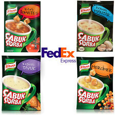 Knorr Cup a Soup Instant Soup, Chicken, Lentil, Tomato, Mushroom - Fast Shipping