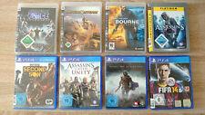 PS 4 und 3 Spiele Sammlung