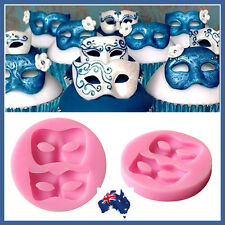 SILICONE MASQUERADE MASK MOULD 2 SHAPES MASK.. PERFECT FOR CHOCOLATE-FONDANT