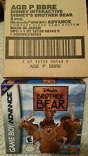 Brother Bear (Game Boy Advance ) Brand new!