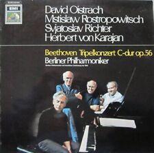 BERLINER PHILHARMONIKER  - DAVID OIISTRACH /HERBERT VON KARAJAN - BEETHOVEN - LP