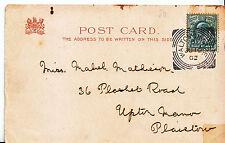 Genealogy Postcard - Ancestor History - Mathieson - Upton Manor Plaistow  MB1141