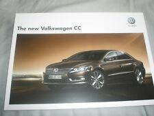 VW CC range brochure Jan 2012 European market English text