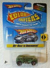 HOT WHEELS Color Shifters - Off Road to Undercover! RD-03