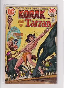 Korak Son of Tarzan & Carson #53 Bronze Age DC Comic Book Sept 1973 see scan