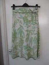 """Monsoon summer skirt, size 8/10 (28"""" waist).Pretty linen fabric in soft colours."""