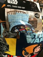 Star Wars Classic 'Galactic Grid' Twin Bed Set with Bonus Tote, Kid's Bedding