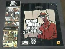 Grand Theft Auto San Andreas (PS2, 2005) NEW SPECIAL EDITION + POKER CHIP & MORE