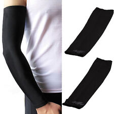 1 pair Cooling Athletic Sport Golf Skins Arm Sleeves Sun Protective UV Cover