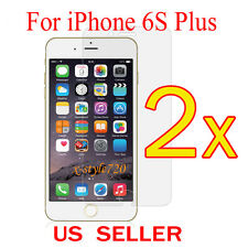 """2x Clear LCD Screen Protector Guard Cover Film For Apple iPhone 6s Plus 5.5"""""""