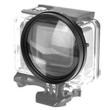 58mm Macro Lens 16x Magnification Close Up Lens Black Waterproof Case Convex Mirror Sports Camera Accessories