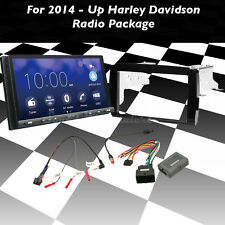 FOR 2014-2017 Harley Davidson 2 Din Touch Screen Radio Kit With Sony XAV-AX5000