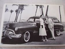 1950 BUICK WAGON WITH DUKE & DUCHESS OF WINDSOR 12 X 18 LARGE PICTURE   PHOTO