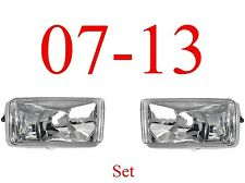 07 13 Chevy Fog Light Set, Assembly, Silverado Truck, New In Box, Both Sides!