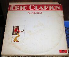 Eric Clapton At His Best *2-Vinyl LP's* Derek The Dominoes-Blind Faith-Solo Comp