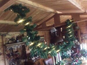 Large 3.5 metre 12 ft light up DIY christmas garland