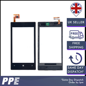 For Nokia 520 Digitizer Black LCD Plastic Touch Screen Replace with Frame