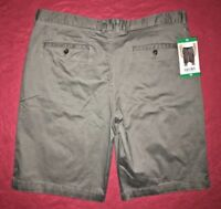 Jachs Grey Stretch Khaki Casual Walking Shorts Mens Size 38
