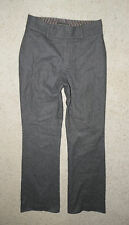 Banana Republic Gray wool high waisted dress career trouser pants lined Size 0