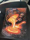 Pearl Jam Concert Poster Munk One Pittsburgh 2013